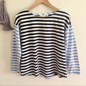 Vineyard Vines • striped 3/4 sleeve sweatshirt top